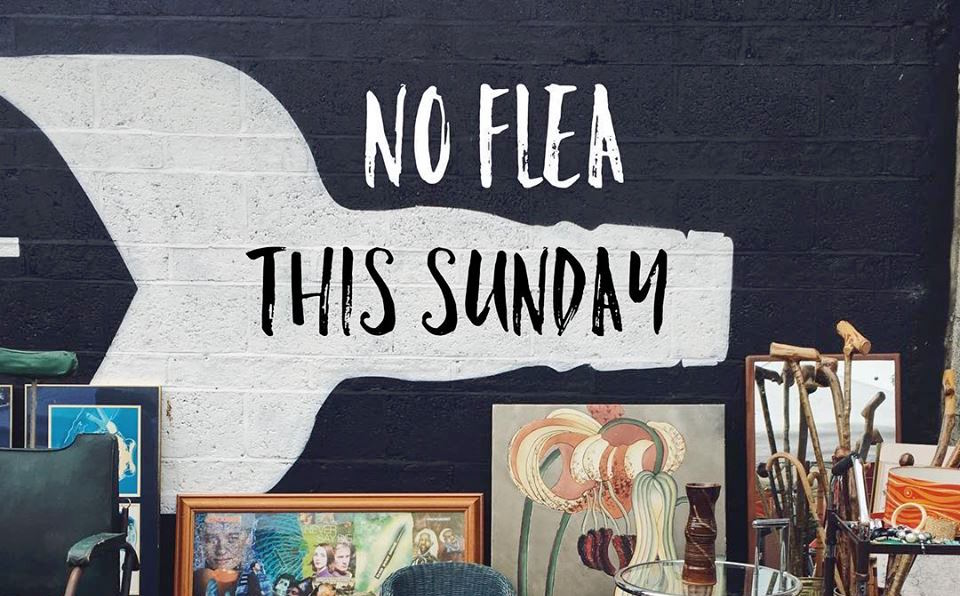No Flea this month June 2018