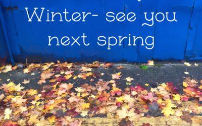 Winter Break -We will be back in spring 2020